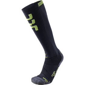 UYN Evo Race Ski Socks Herre anthracite/green lime